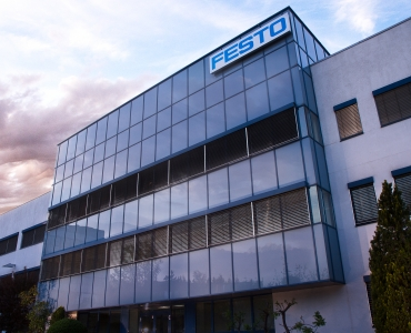 Manifacturing building of FESTO